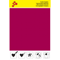 IDSF739A Velvet red (Arch) Folia do naprasowywania Speed flex / iDigit